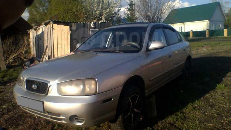 Hyundai Elantra, 2002 год, 100 000 руб.