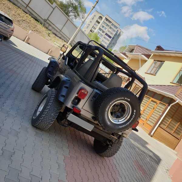 Jeep Wrangler, 1993 год, 720 000 руб.