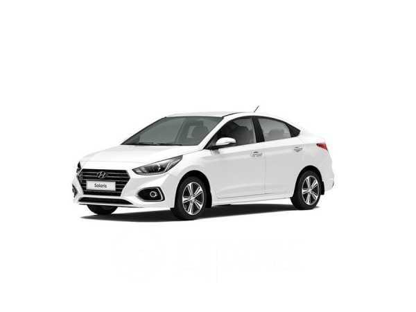 Hyundai Solaris, 2019 год, 916 916 руб.
