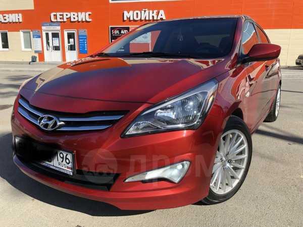 Hyundai Solaris, 2015 год, 570 000 руб.