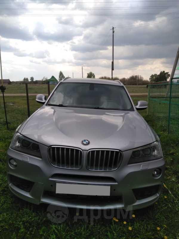 BMW X3, 2012 год, 850 000 руб.