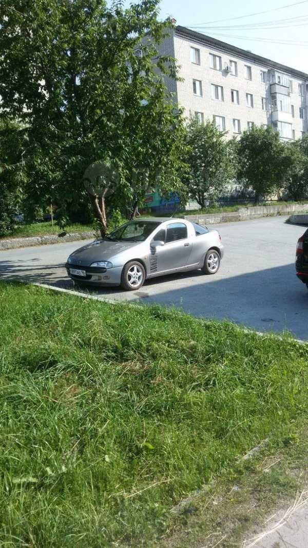 Opel Tigra, 1995 год, 115 000 руб.