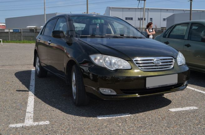 BYD F3, 2008 год, 195 000 руб.