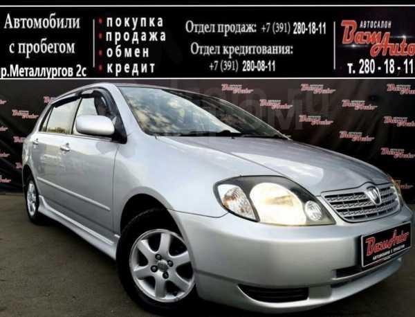 Toyota Allex, 2001 год, 337 000 руб.