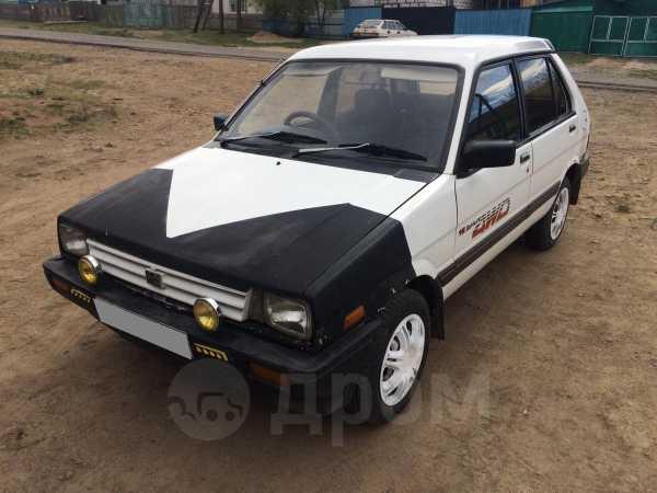 Subaru Justy, 1987 год, 60 000 руб.