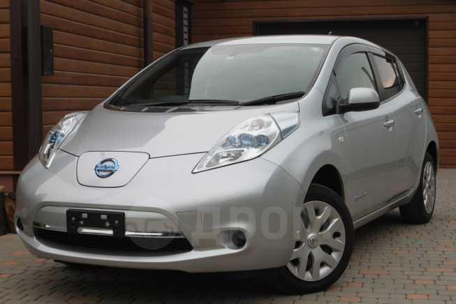Nissan Leaf, 2015 год, 749 990 руб.