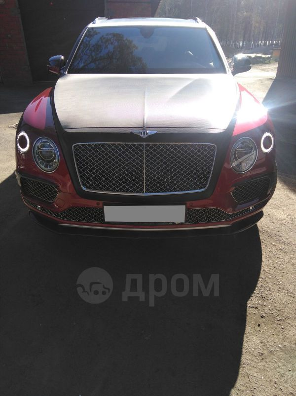 Bentley Bentayga, 2016 год, 16 000 000 руб.