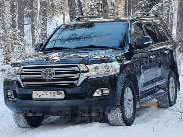 Toyota Land Cruiser, 2017 год, 4 800 000 руб.