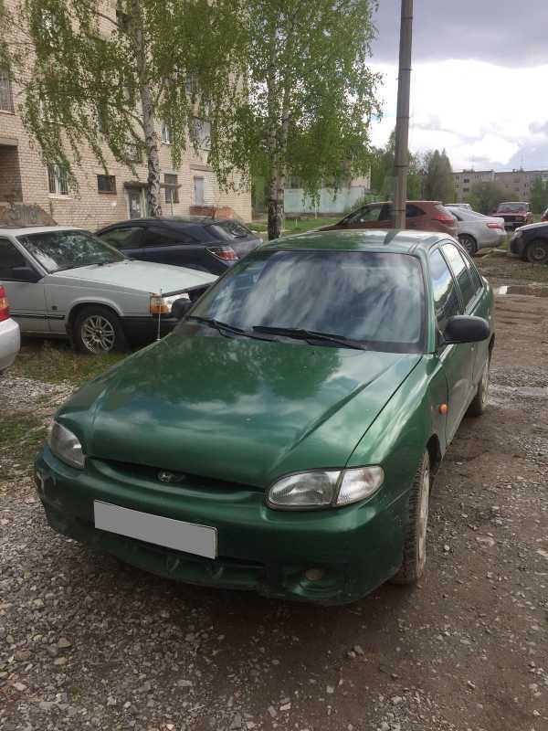 Hyundai Accent, 1998 год, 60 000 руб.