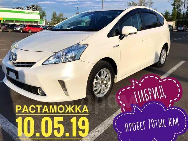 Toyota Prius a, 2014 год, 980 000 руб.