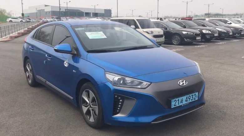Hyundai Ioniq, 2017 год, 1 350 000 руб.