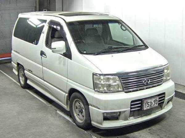 Nissan Elgrand, 2001 год, 360 000 руб.