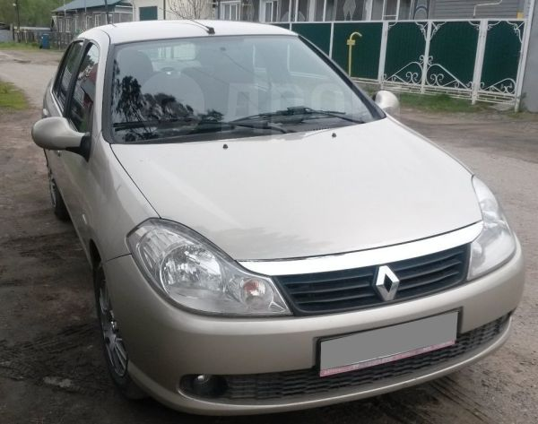 Renault Symbol, 2008 год, 260 000 руб.