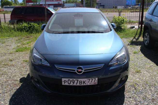 Opel Astra GTC, 2013 год, 649 000 руб.