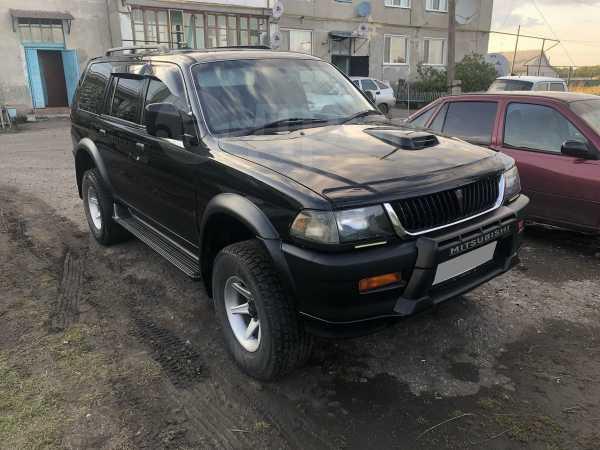 Mitsubishi Challenger, 1996 год, 500 000 руб.
