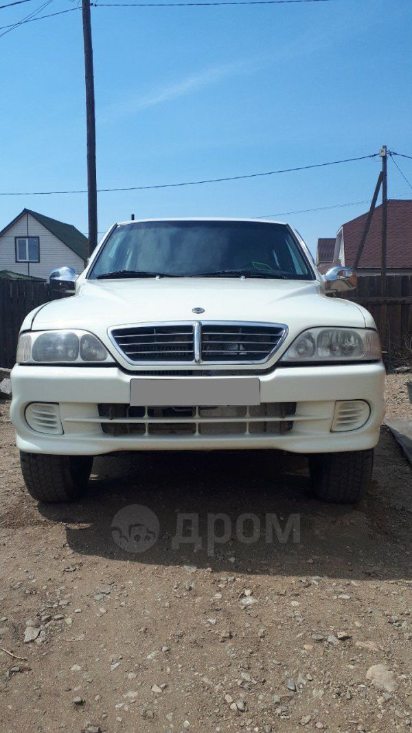 SsangYong Musso, 2006 год, 350 000 руб.