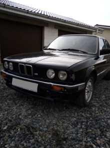 Новосибирск BMW 3-Series 1986