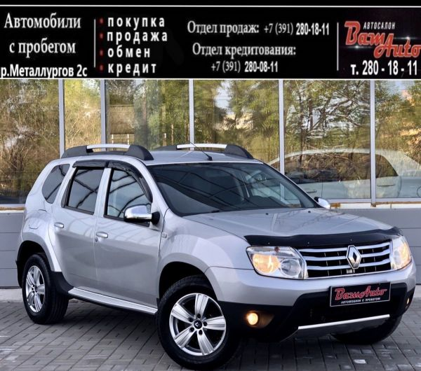 Renault Duster, 2012 год, 667 000 руб.