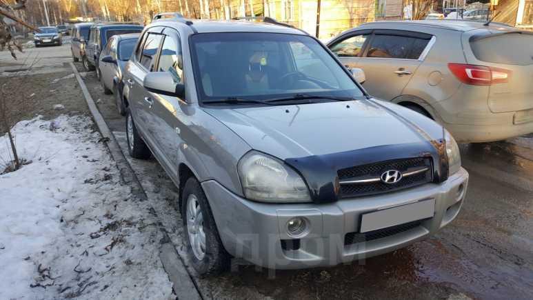 Hyundai Tucson, 2008 год, 370 000 руб.