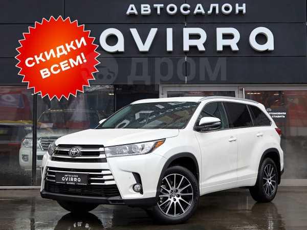 Toyota Highlander, 2019 год, 3 990 000 руб.