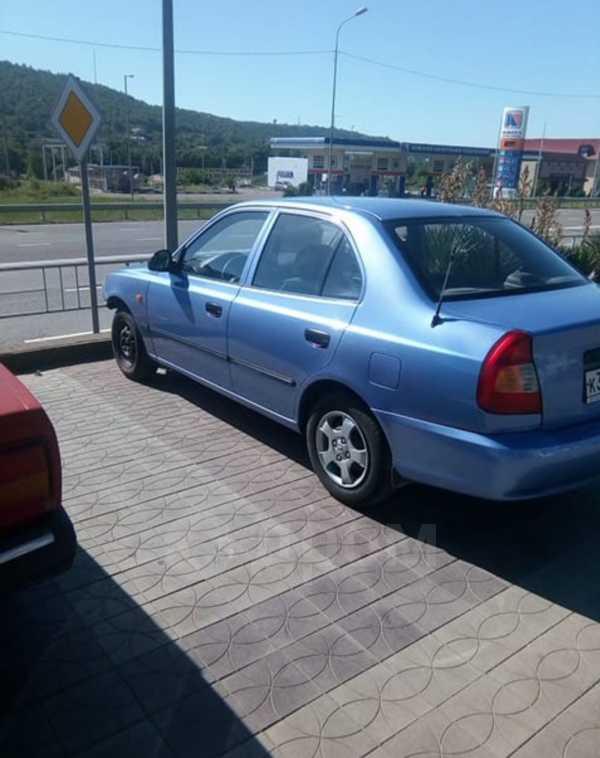 Hyundai Accent, 2003 год, 185 000 руб.