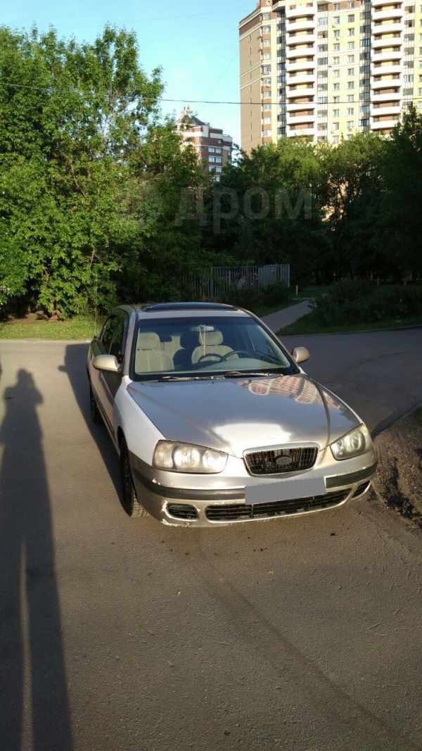 Hyundai Elantra, 2001 год, 100 000 руб.