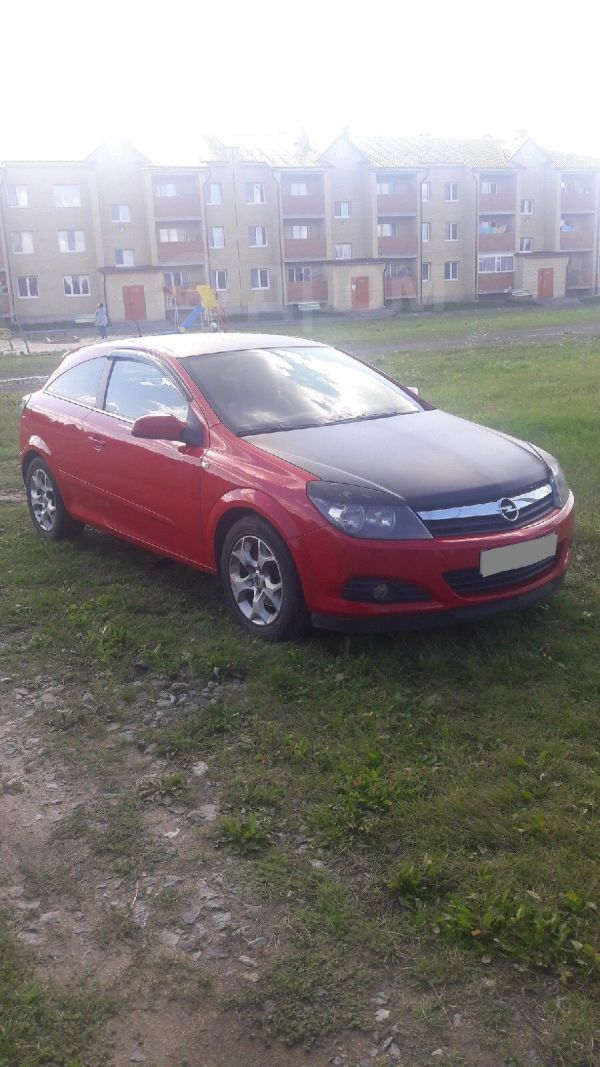 Opel Astra GTC, 2006 год, 210 000 руб.