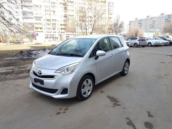 Toyota Ractis, 2015 год, 585 000 руб.
