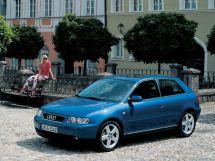 Audi A3 рестайлинг, 1 поколение, 09.2000 - 07.2003, Хэтчбек 3 дв.