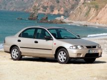 Mazda 323 рестайлинг 1996, седан, 7 поколение, BA