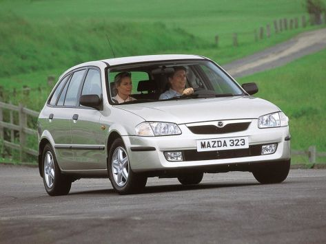 Mazda 323 (BJ) 06.1998 - 09.2000