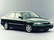 Mazda 626 1997, лифтбек, 6 поколение, GF