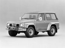 Nissan Safari 1987, джип/suv 3 дв., 1 поколение, Y60