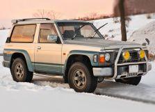 Nissan Safari рестайлинг 1993, джип/suv 3 дв., 1 поколение, Y60