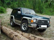 Nissan Safari 2-й рестайлинг 1994, джип/suv 3 дв., 1 поколение, Y60