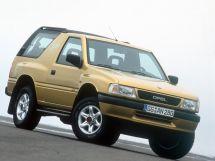 Opel Frontera рестайлинг 1995, джип/suv 3 дв., 1 поколение, A