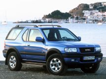 Opel Frontera 2 поколение, 09.1998 - 05.2001, Джип/SUV 3 дв.