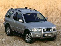 Opel Frontera рестайлинг 2001, джип/suv 3 дв., 2 поколение, B