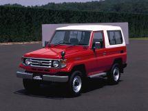 Toyota Land Cruiser 2-й рестайлинг, 8 поколение, 08.1999 - 07.2004, Джип/SUV 3 дв.