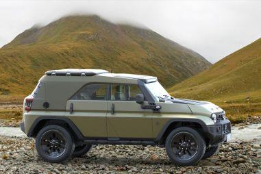 Дизайнер разработал очень крутой ремейк легендарного УАЗа-469. ФОТО