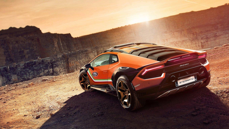 Lamborghini создала на базе Huracan внедорожник