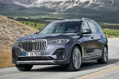 У проданных в России BMW X7 криво установлены подушки безопасности