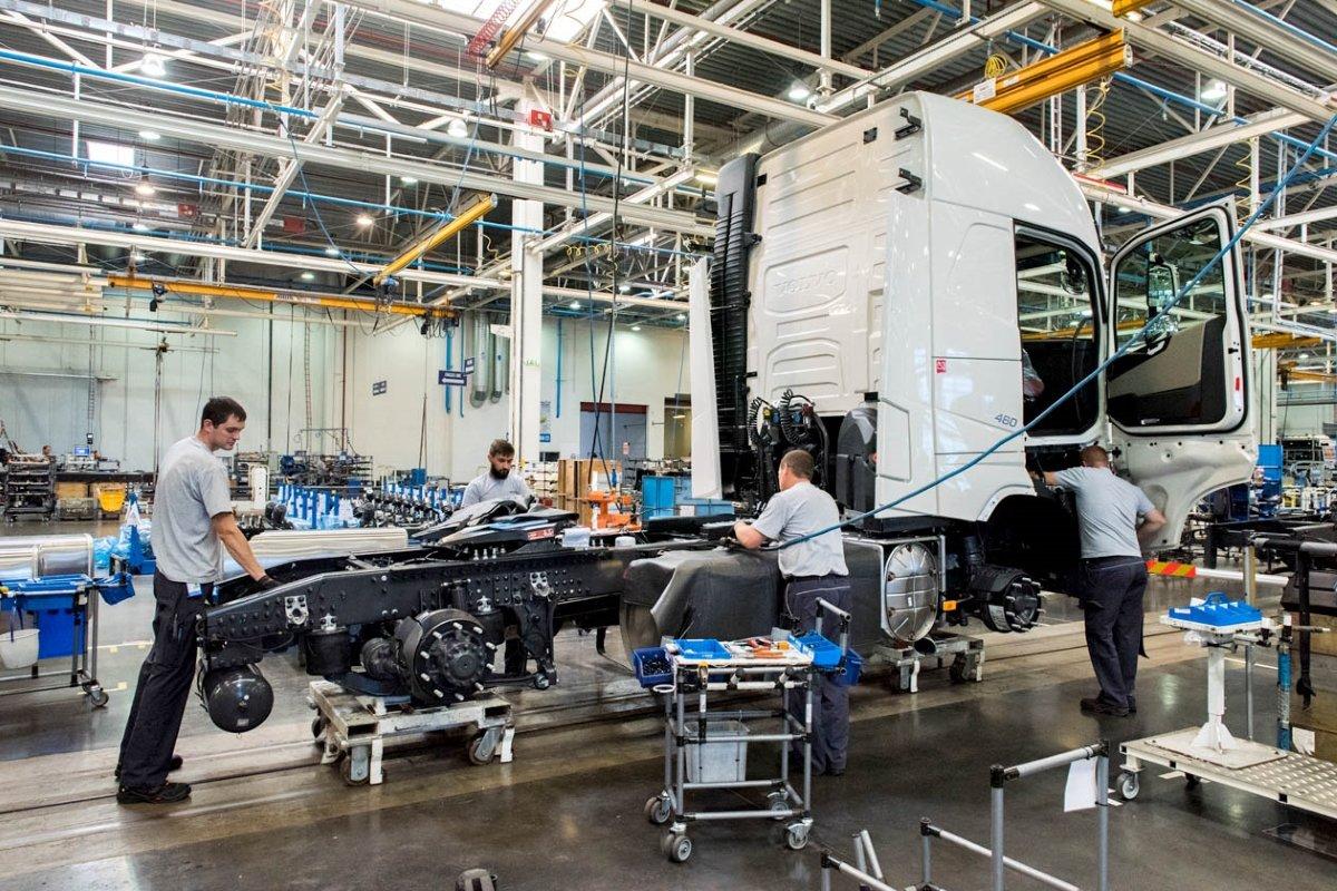 Volvo подпишет СПИК на расширение калужского завода