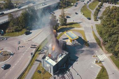 В Норвегии взорвалась водородная заправка: ВИДЕО