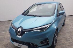 Внешность электромобиля Renault Zoe раскрыта в результате утечки информации
