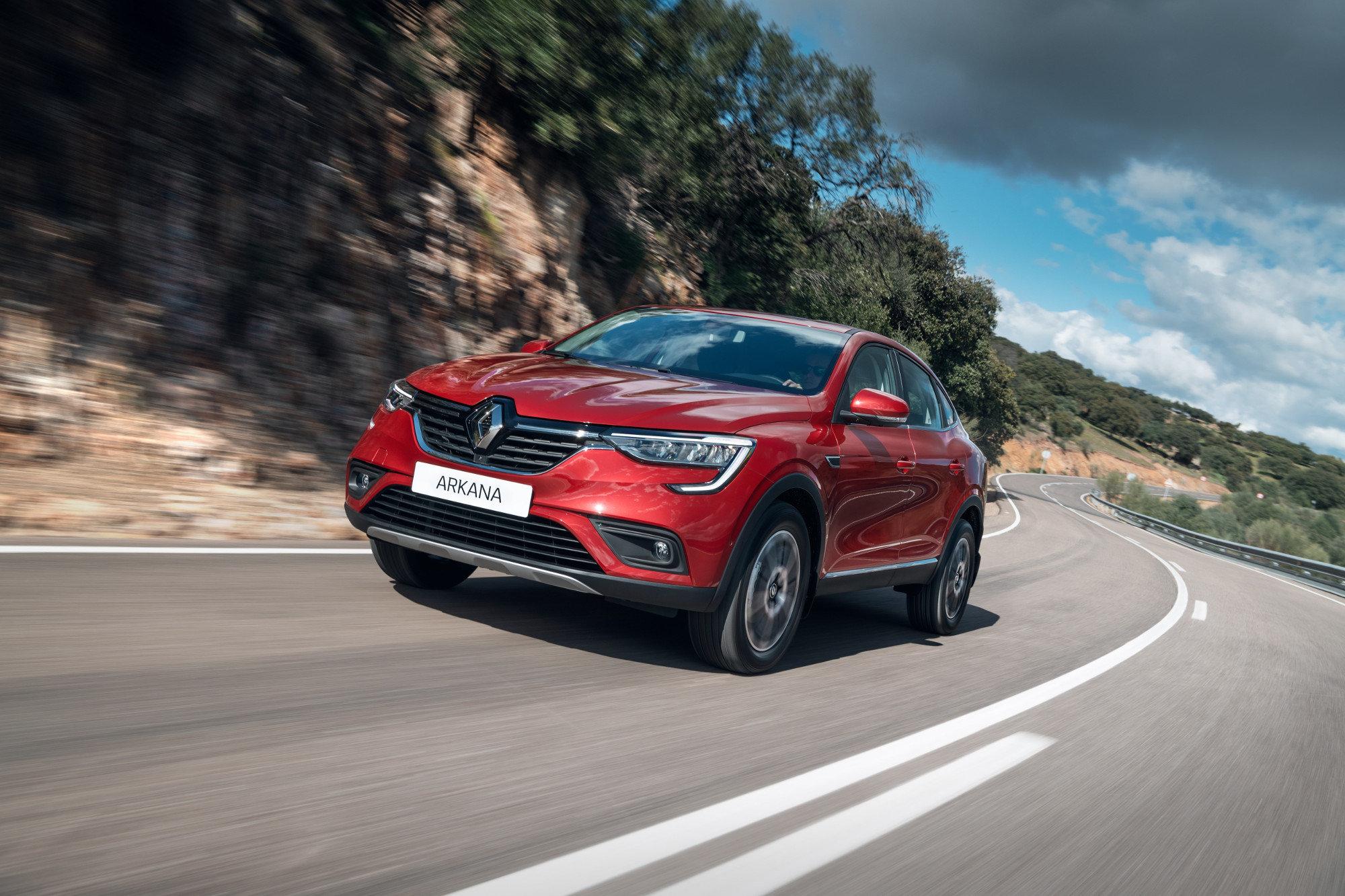 Обнародован полный прайс-лист на Renault Arkana: от 999 тысяч рублей