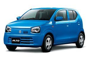 Suzuki отпраздновал 40-летие модели Alto спецверсией