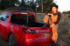 Симона называет этот электрический пикап «автомобилем своей мечты»
