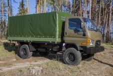 Новый грузовик собран на агрегатах Hyundai