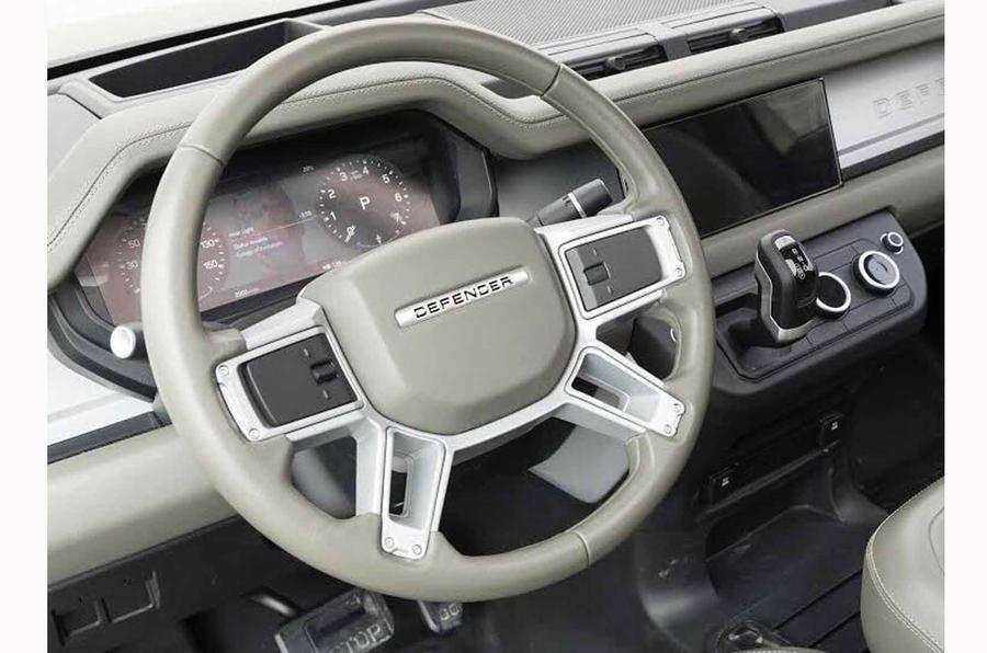 Утечка фотографий рассекретила внешность Land Rover Defender нового поколения